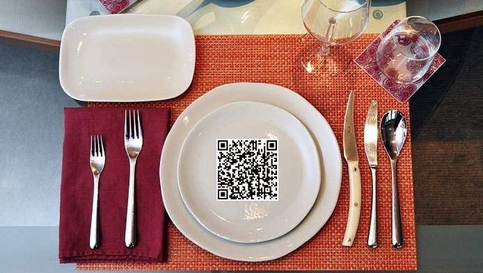 kody QR w restauracji